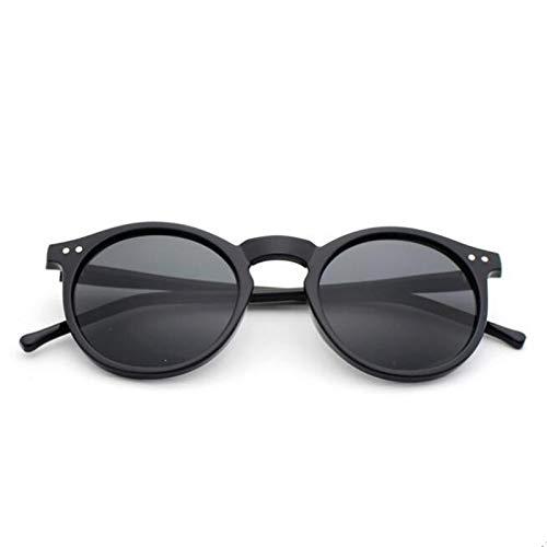 CCMOO Sonnenbrille Frauen Mehrfarbenrahmen Neue Mercury Spiegelglas Männer Beschichtung Runde Sonnenbrille Männer-4