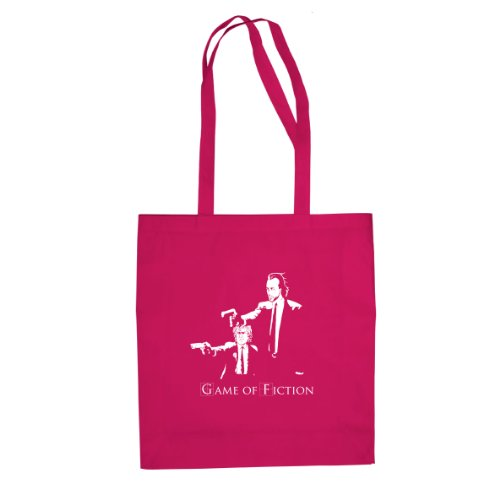 GoT: Game of Fiction - Stofftasche / Beutel Pink