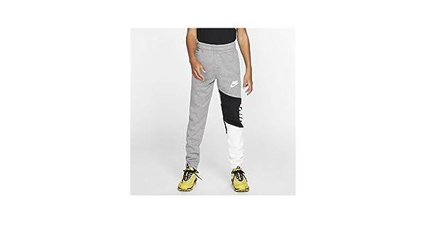 Nike Felpa Full Zip Ragazzo Amplify Grigia cod BV3649 091