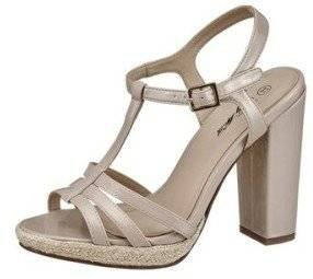 High Heel Sandalette von City Walk Beige