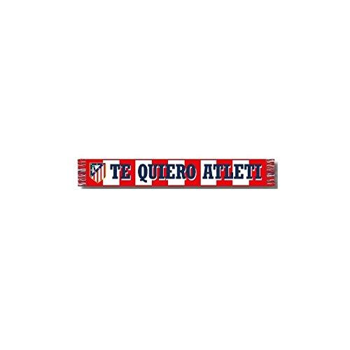 Bufanda Atlético de Madrid – TE QUIERO ATLÉTI