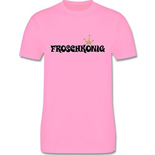 Typisch Männer - Froschkönig - Herren Premium T-Shirt Rosa