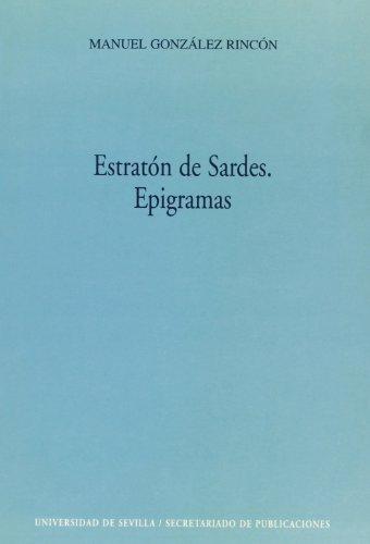 Estraton de sardes. epigramas