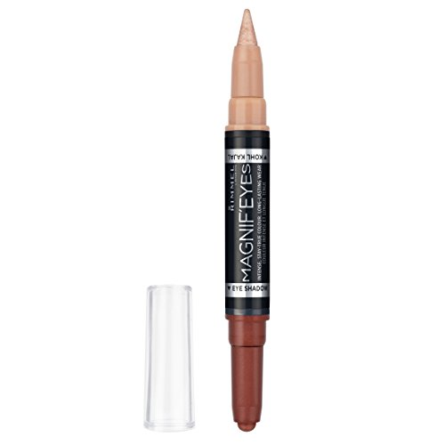 RIMMEL LONDON Magnif'eyes Double Ended Shadow + Liner Queens of the Bronzed Age