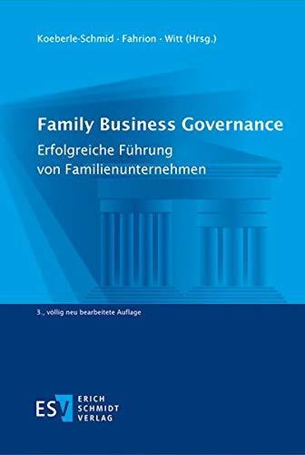 rnance: Erfolgreiche Führung von Familienunternehmen ()