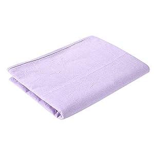 Waschbare Massageliege, hypoallergen, weicher Baumwollbezug für Salon Beauty Salon Spa Weiche Baumwolle Bettlaken mit Gesichts-Atemloch – für Betten mit einer Größe von 80 x 200 cm
