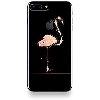coque iphone 8 silicone flamant rose
