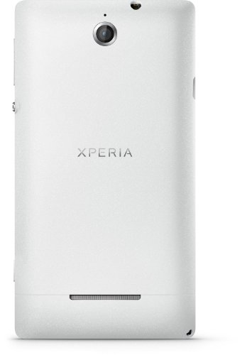 Sony Xperia E - Smartphone libre Android  pantalla 3 5   c  mara 3 2 Mp  4 GB  1 GHz  512 MB RAM   blanco  importado