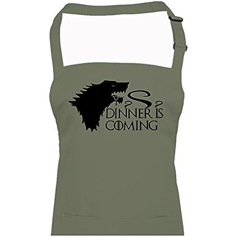 DINNER è COMING-Fantasy, ispirato alla serie TV-Grembiule da Ice-Tees