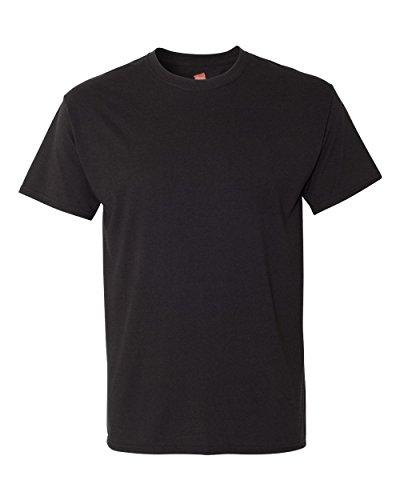 Hanes -  T-shirt - Maniche corte  - Uomo Black