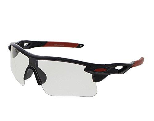 Vast UV Protected Sport Unisex Sunglasses (9181c2_clear|60|Transparent)