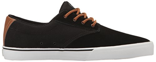 Etnies EtniesJameson Vulc - Scarpe da Skateboard Uomo Nero (Black/Brown/Grey)