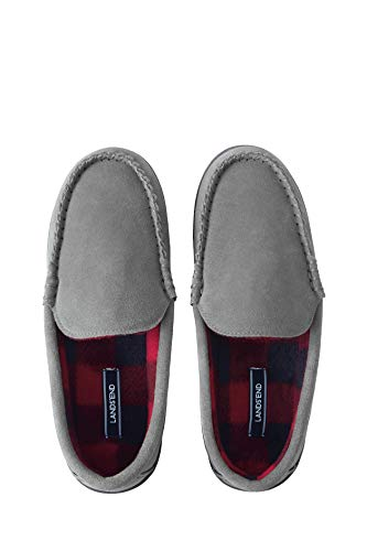 Lands\' End Veloursleder-Mokassins für Damen Grau 8