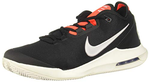 Nike Herren AIR MAX Wildcard Cly Tennisschuhe, Mehrfarbig (Black Phantom-Bright Crimson 006), 42 EU