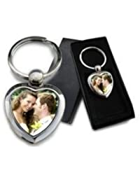 Csutomized Heart Shape Key Chain.