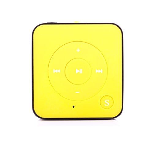 MP3-Player Royal BC05 – Clip, Sport, Fitness Player, 15 Stunden Wiedergabe, USB Kabel, microSD Kartenslot für bis zu 32 GB microSD Karten – gratis Silikonhülle - von Bertronic