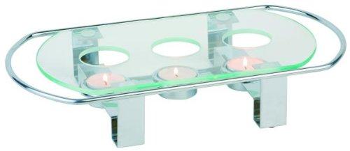 Unim 35065 - Calentador de platos (3 fuegos, 34 x 18 cm)