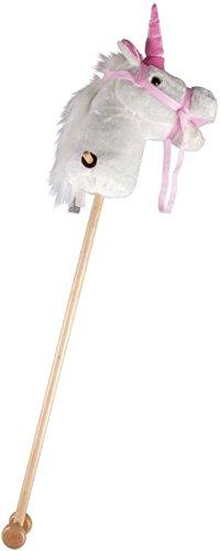 Unbekannt Besttoy - Einhorn Steckenpferd - weiß/pink