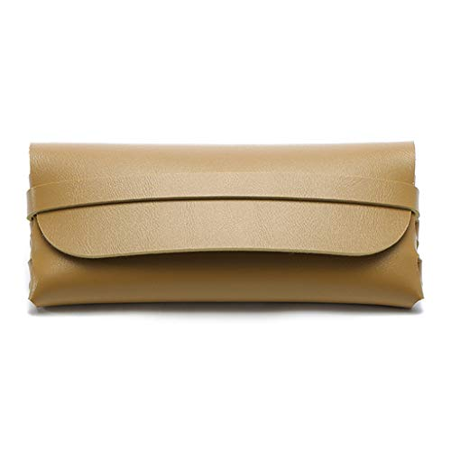 PT -KMKMING Men's And Women's Portable Glasses Case PU Imitation Leather For Foldfable Storage Bag Protects Sunglass Carrying Pockets Outdoor Travel Accessories