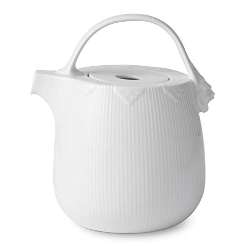 Royal Copenhagen White Elements Tea Pot 95cl - Royal Copenhagen Elements