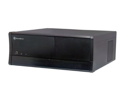 Silverstone SST-GD01B-M Grandia PC Casing (micro-ATX, 2x 5.25 External, 6x 3.5 Internal, Multimedia, 2x USB 3.0) Black