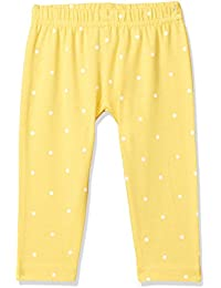 Easybuy Baby-Girl's Printed Slim Leggings (SP91WE53GZ_YELLOW_24M)