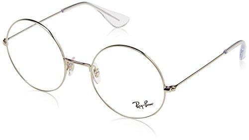 Ray-Ban Unisex-Erwachsene 0RX 6392 2968 53 Brillengestelle, Silber (Silver),