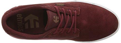 Etnies  Jameson Vulc, Chaussures de Skateboard homme Burgundy/tan/white