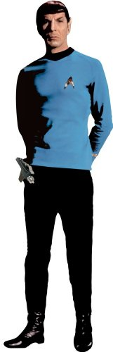RoomMates RMK1360GM Star Trek Spock Peel & Stick Giant Wall Decal -