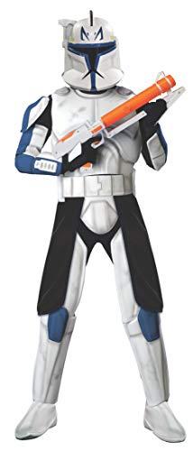 Commander Clone Kostüm Trooper - Star Wars Captain Rex Kostüm für Erwachsene - XL