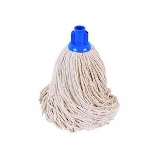 Aaron Chemicals Mop Head, Kentucky, Socket Mop Metal or Plastic + FREE Floor Cleaner (optional) (Socket Mop (Blue Socket), 1)