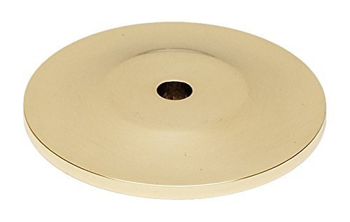 Alno A815-14P-PB Traditional Knobs Backplates, Polished Brass, 1-1/4 by Alno -