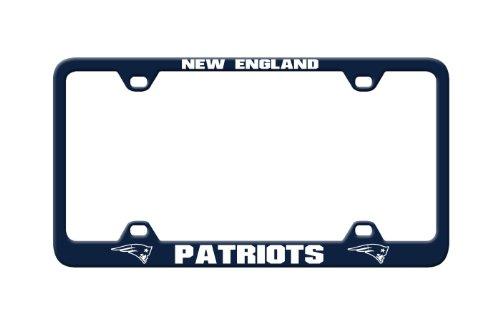 Fremont Die NFL New England Patriots Laser Nummernschild Rahmen