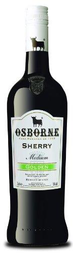 Osborne Sherry Golden,Medium 15 % vol, 3er Pack (3 x 750 ml)