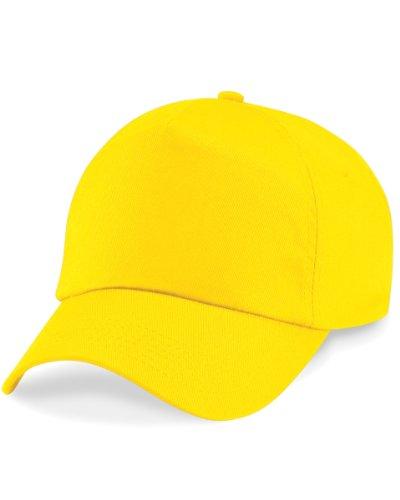Beechfield Original 5 Panel Cap, verschiedene Farben Gelb