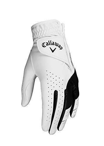 Callaway Golf 2019 - Guanti da Donna in Elastan, Donna, 5319331, Bianco, L
