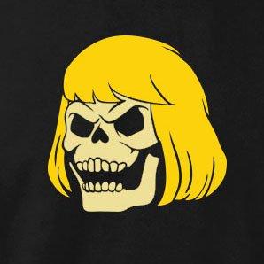 TEXLAB - MotU: Skeleman - Damen T-Shirt Schwarz
