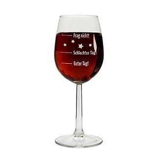 Weinglas-Guter-Tag-Schlechter-Tag-Frag-nicht-Rot-Weiweinglas-Geschenkidee-Geburtstagsgeschenk-Weihnachtsgeschenk-Geschenk-fr-sieihn-zum-Muttertag-Vatertag