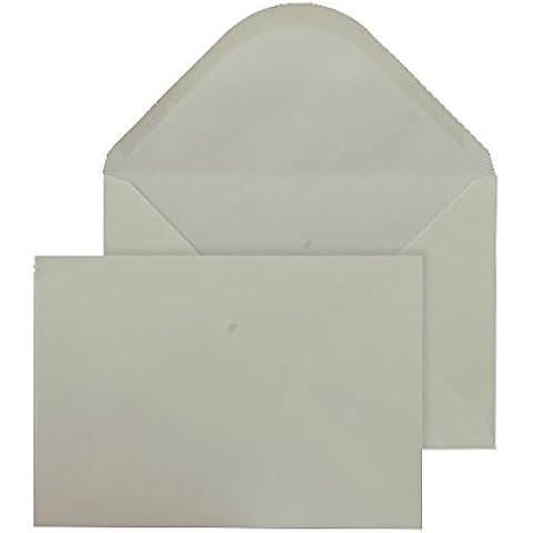 Purely Everyday - Lote de sobres engomados (C5, 133 x 197 mm, 500 unidades), color crema
