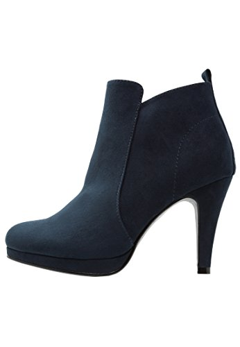 Anna Field Plateau Ankle Boots Damen - Stiefeletten mit Absatz in Blau,...