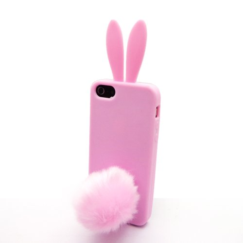 xhorizonr-baby-pink-faux-velvet-suction-tail-bunny-rabbit-soft-rubber-case-cover-for-iphone-5-5s-cle