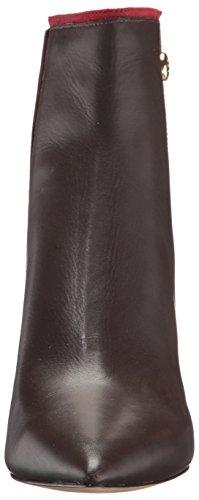 Nine West Damen Monsoon Stiefel Dark Brown/Red