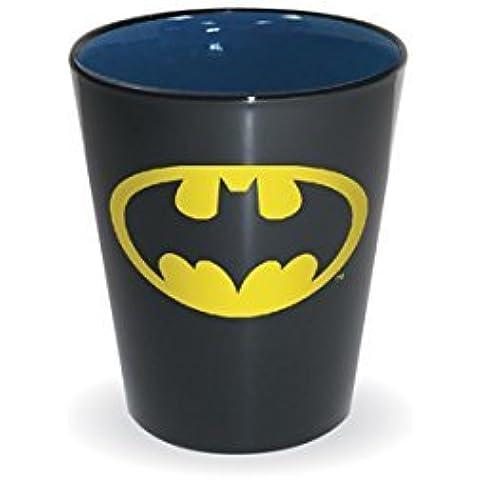 DC Comics Superhero Logo Shot Glass (Batman) by (Superman Shot Glass)