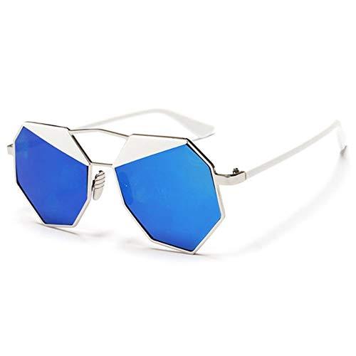 Qiuqiu Home Sonnenbrillen Spiegel Design Octagon Sonnenbrillen