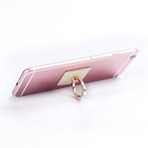 Handyhalter Dairyshop 360 ° Finger Ring Haken Metall Grip Stand Halter für Universal Handy