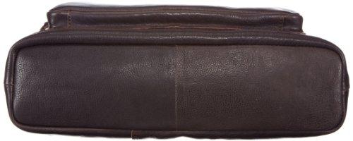 Strellson Balham Shopper 4010000157 Herren Henkeltaschen 37x37x10 cm (B x H x T), Schwarz (black 900) Braun (dark brown 702)