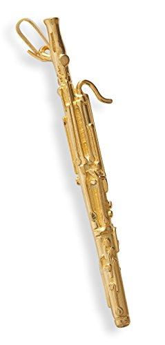basson-Anhänger vergoldet