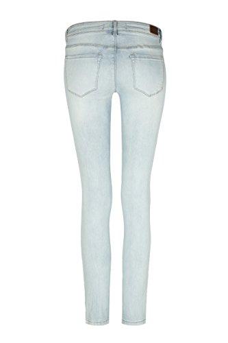 Tally Weijl Damen Skinny Jeans Blau (Denim Blue Ehub)