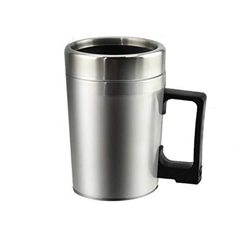 Prima05Sally Universal Elektrische Auto Auto Heizung Tasse Edelstahl Kaffee Tee Wasserkocher Mit Griff Zigarettenanzünder Adapter - Elektrische Universal-adapter