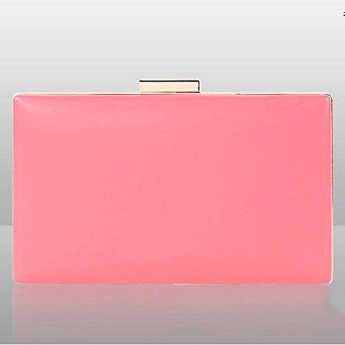 frauen kupplungen geldbörsen taschen blumen leder umschlag perle geldbörse abend handtasche. 20 x 12 cm pink